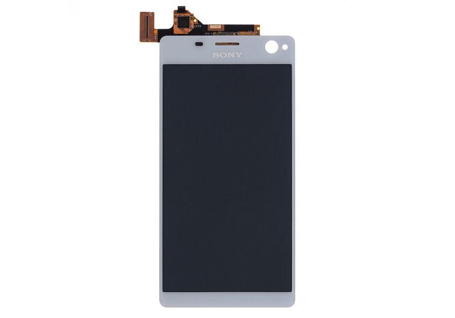LCD (Дисплей) Sony E5303 Xperia C4/E5306 Xperia C4/E5333 Xperia C4 Dual (в сборе с тачскрином) (white) Оригинал