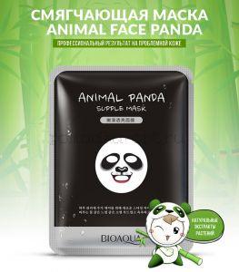 Маска для лица Bioaqua Animal Face Panda смягчающая 30 g