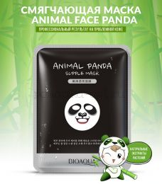 Маска для лица Bioaqua Animal Face Panda смягчающая 30 g