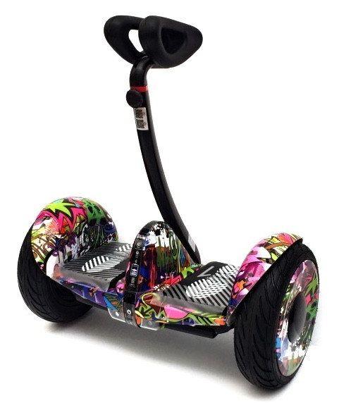 Мини-Сигвей Mini Robot 36v Фиолетовый хип хоп
