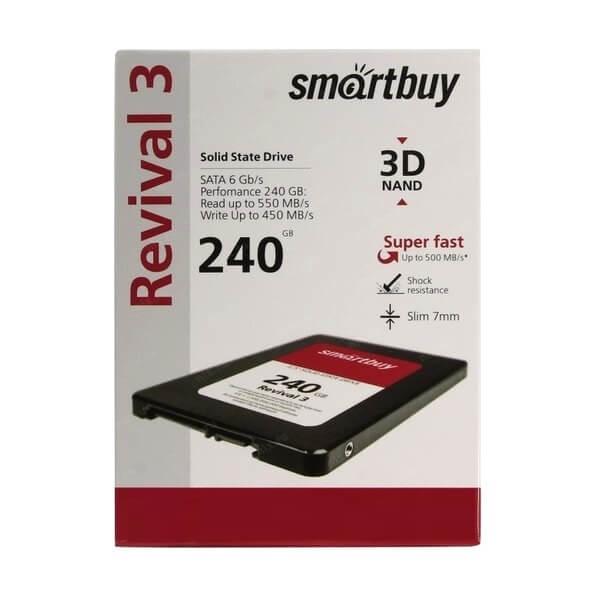 """Внутренний жесткий диск форм-фактор 2.5"""", 240 Gb, SSD, Smartbuy Revival 3"""