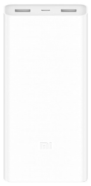 Универсальный внешний аккумулятор (Power Bank) Xiaomi Mi Power Bank 2C 20000 (20000 mAh) (white)