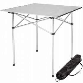 Стол складной PREMIER 70*70*69 см алюминий PR-SA