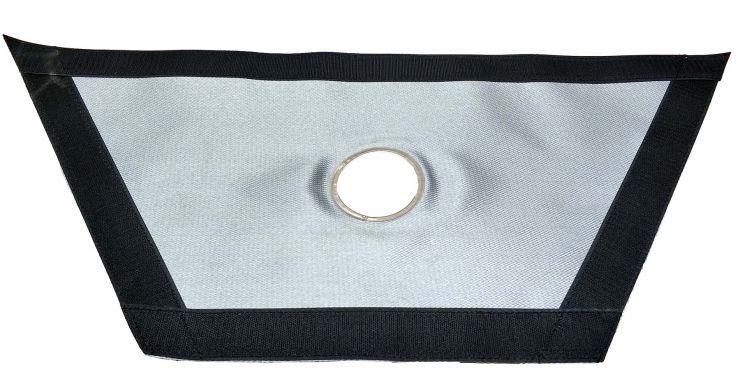 Окно-Разделка для окна палатки Higashi под трубу 65 мм из стеклоткани