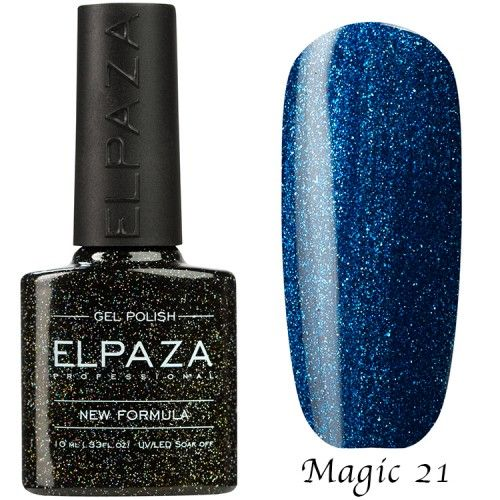 Гель лак ELPAZA MAGIC GLITTER 10 мл СИЯНИЕ 21