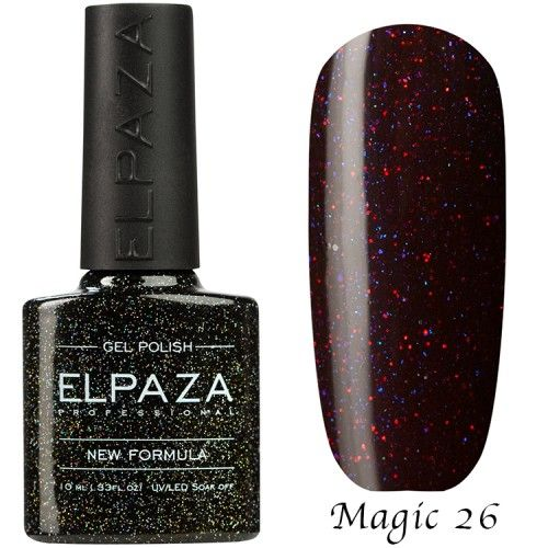 Гель лак ELPAZA MAGIC GLITTER 10 мл ЯДРО КОМЕТЫ 26