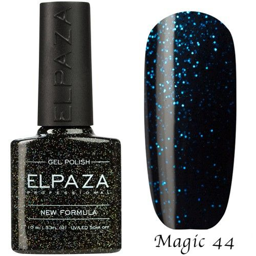 Гель лак ELPAZA MAGIC GLITTER 10 мл СУПЕРНОВА 44