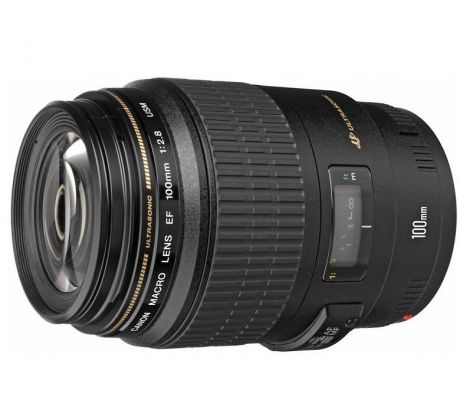 Oбъектив Canon EF 100mm f/2.8 Macro USM