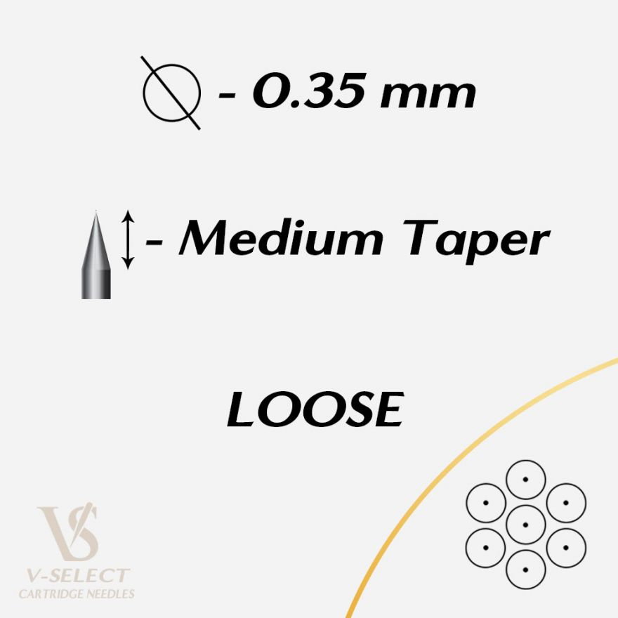 Картриджи Round Liner MEDIUM Taper Loose - EZ® V-System