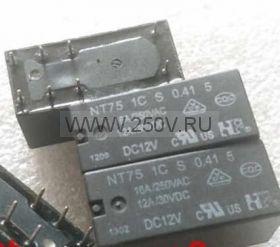 Реле промежуточное NT75-C-S-12-DC12V-0.41-3.5