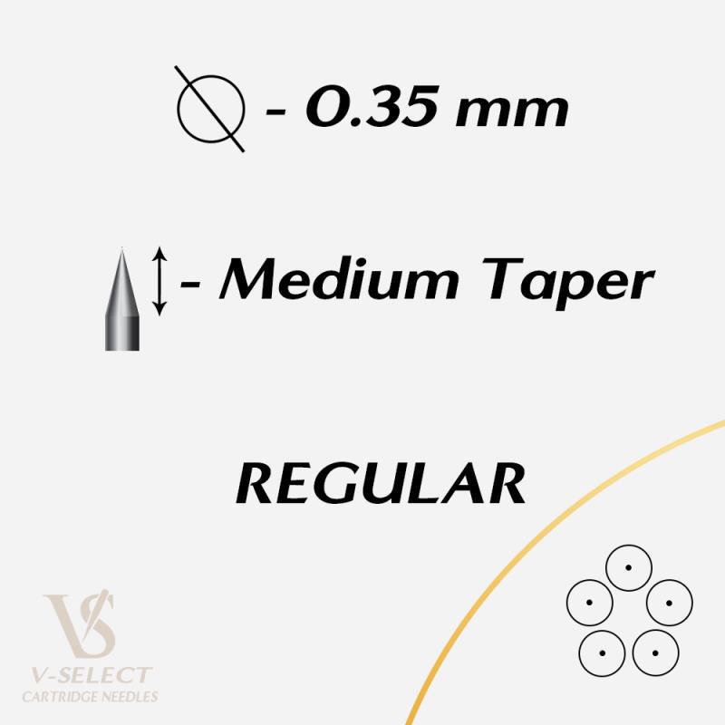 Картриджи Round Shader MEDIUM Taper - EZ® V-System