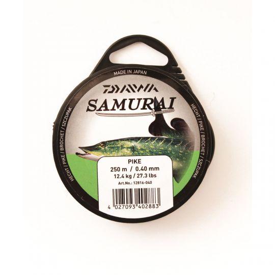Daiwa Samurai Pike 0,40мм 250м светло-оливковая