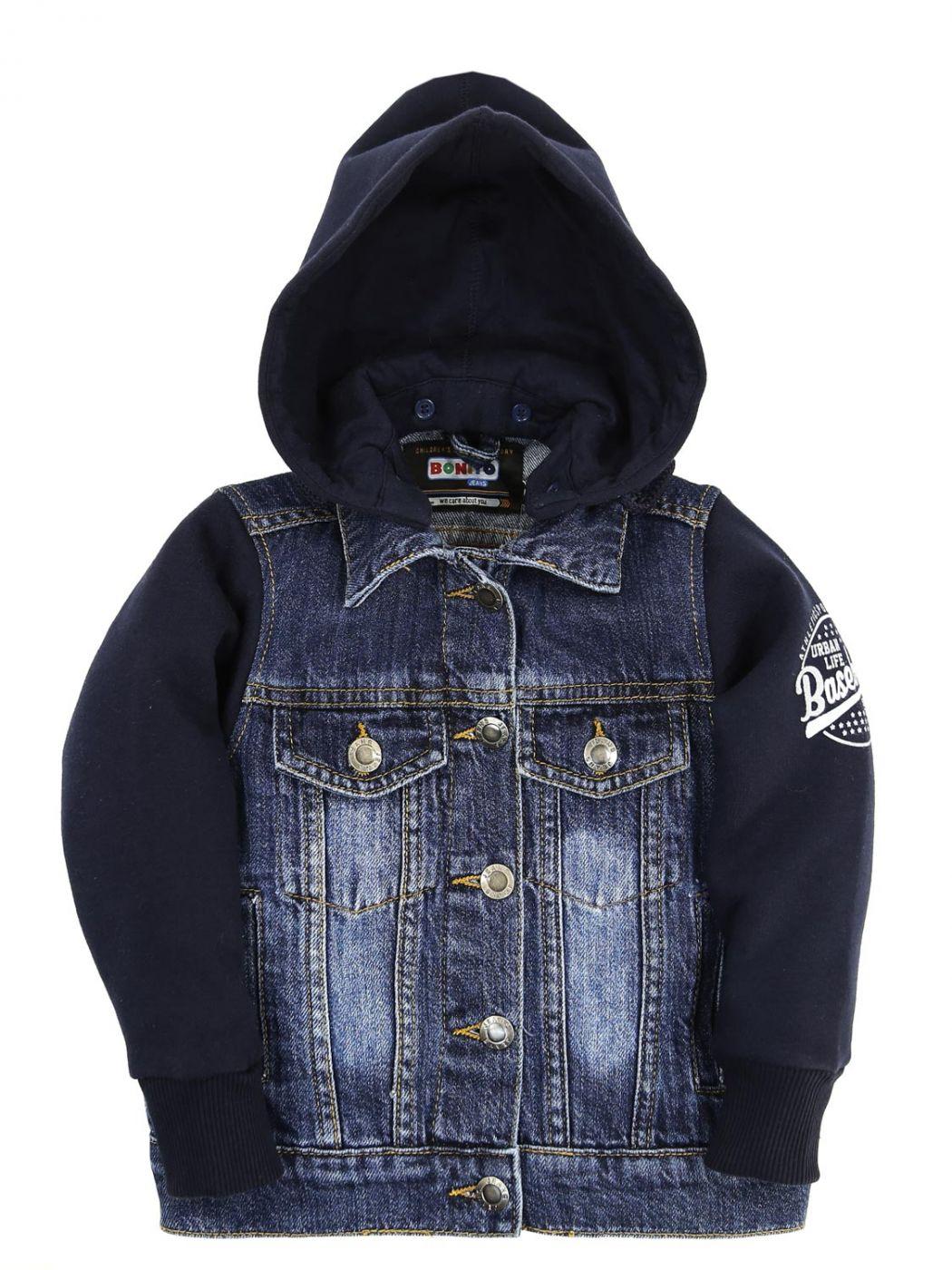 "Куртка джинсовая с капюшоном Bonito Jeans ""Baseball"""