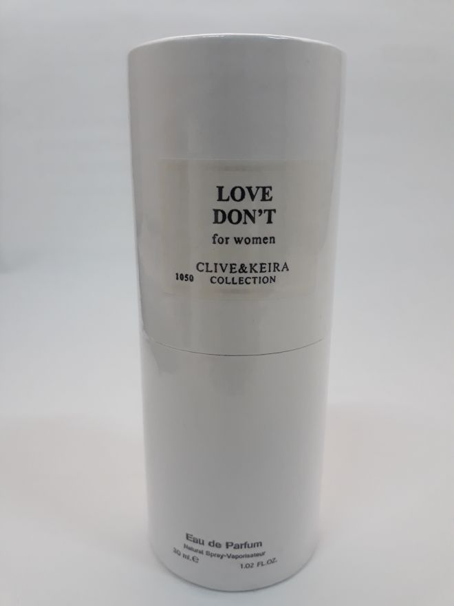 Clive & Keira Love Don't For Woman 30 ml (1050)