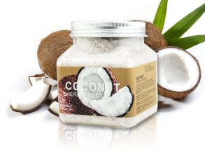 Скраб для тела с Кокосом Wokali Coconut Sherbet Body Scrub , 350 мл