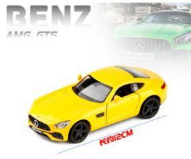 Коллекционная модель автомобиля mercedes amg gts  1:36