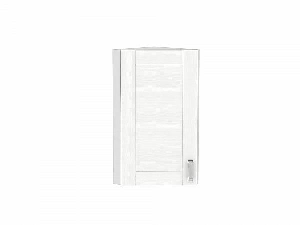 Шкаф верхний торцевой Лофт ВТ230 (Snow Veralinga)