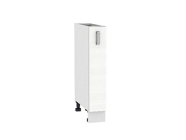 Шкаф нижний бутылочница Лофт НБ150 (Snow Veralinga)