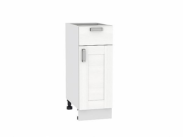 Шкаф нижний Лофт Н301 (Snow Veralinga)