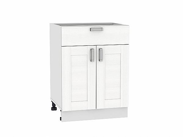 Шкаф нижний Лофт Н601 (Snow Veralinga)