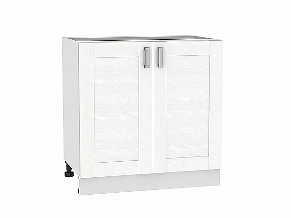Шкаф нижний Лофт Н800 (Snow Veralinga)