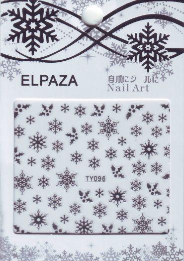 3D наклейки ELPAZA TY096 новогодний