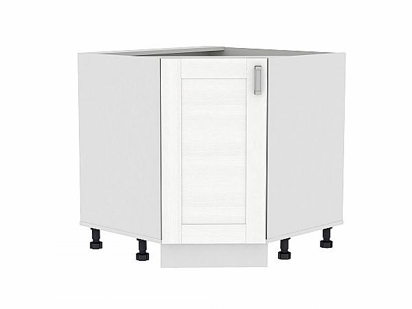 Шкаф нижний угловой (трапеция) Лофт НУ890 (Snow Veralinga)