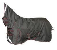 """Непромокаемая попона с полной шеей """"Horse Comfort"""" на утеплителе 300 г/м. 1200 ден. Суперкрепкая!"""