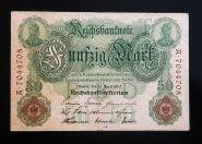 Германия 50 марок 1910