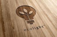 Логотип из дерева гравировкой