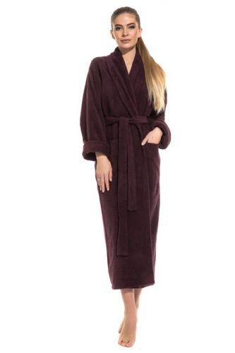 Удлиненный женский махровый халат Pure Comfort