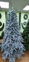 Искусственная елка Нормандия Пушистая full РЕ 260 см заснеженная