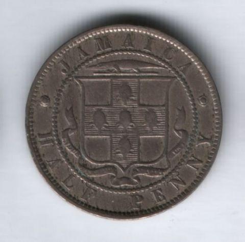 1/2 пенни 1882 года Ямайка