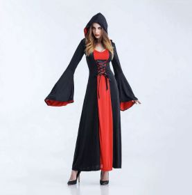 Женский костюм на Хэллуин вампирша ведьмочка
