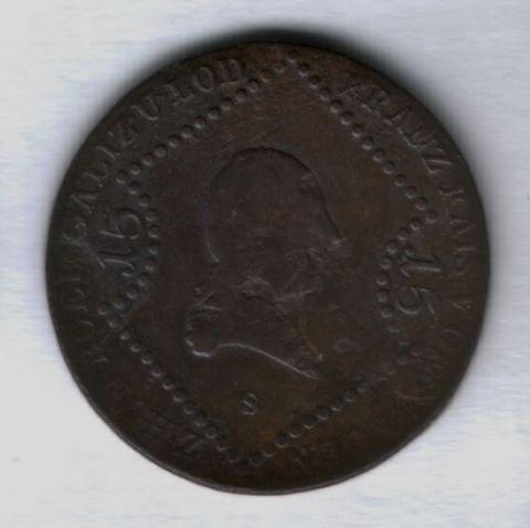 15 крейцеров 1807 года Австрия