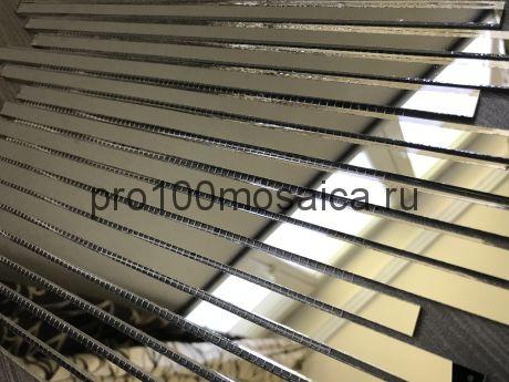 B300-2 Бронзовое зеркало. Мозаика зеркальная серия VANTAGGIO, 350*190*4 мм (VIVERE)