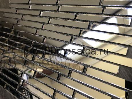 B74 Бронзовое зеркало. Мозаика зеркальная серия VANTAGGIO, 347*190*4 мм (VIVERE)