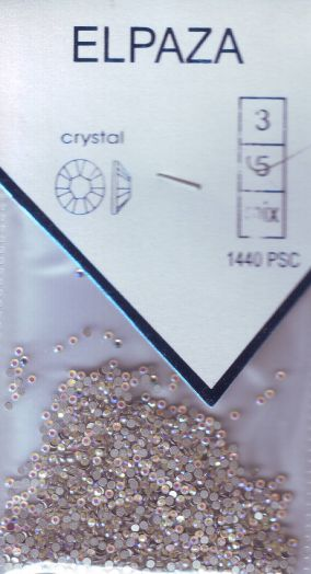 Стразы ELPAZA  CRYSTAL SS5 1440 шт. опал