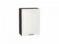 Шкаф верхний с одной дверцей Прага В500 в цвете Белое дерево