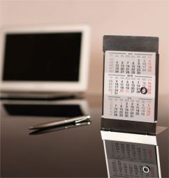 металлические настольные календари оптом