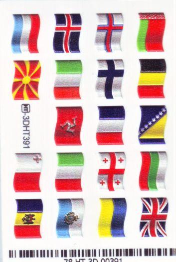 3D Слайдер-дизайн 3D 391 флаги