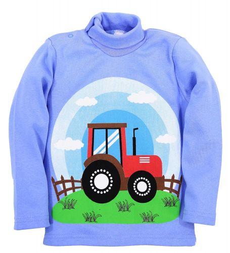 "Водолазка для мальчика Bonito kids ""Трактор"" 1-4 года"