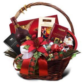 Подарочная корзина Новогодняя искра