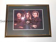 Автографы: Black Sabbath. Оззи Осборн, Тони Айомми, Гизер Батлер