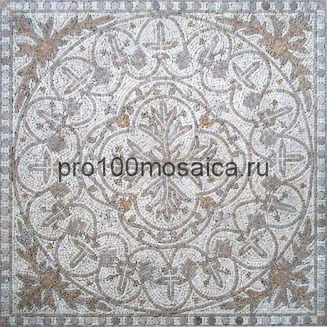 PH-22 мрамор. Мозаичный ковер  1220*1220*10 мм (NATURAL)