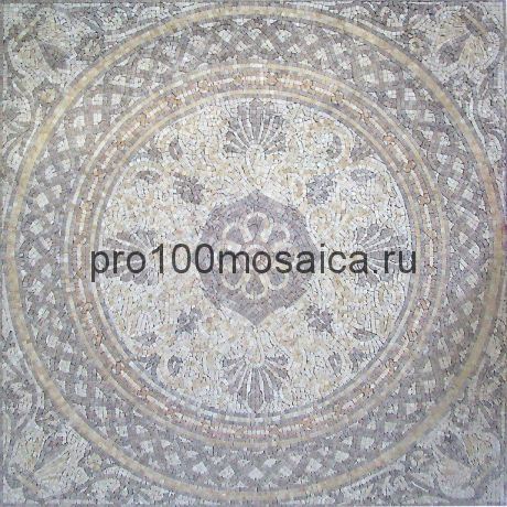 PH-23 мрамор. Мозаичный ковер  1220*1220*10 мм (NATURAL)
