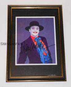 Автограф: Джек Николсон. Бэтмен (1989)