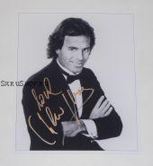 Автограф: Хулио Иглесиас