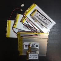 Аккумулятор технический универсальный (3.7 V/2200 mAh) (5 мм x 42 мм х 57 мм)