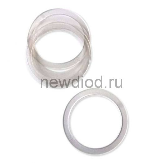 Кольцо протекторное(прозрачное), диаметр 90 (в пачке 100 шт)